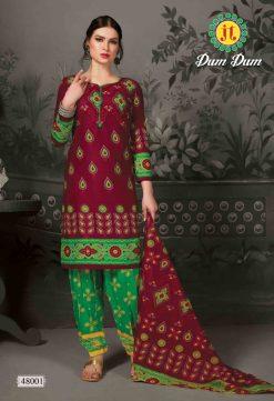 JT fashion present of printed dumdum vol 48 dress materials 15
