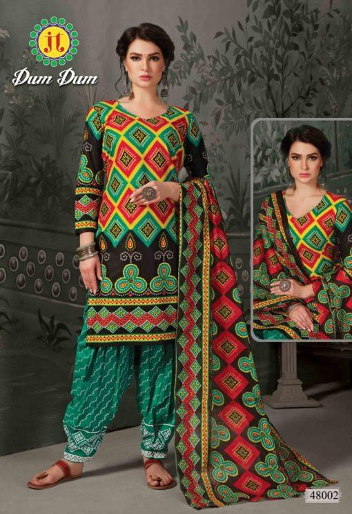 JT fashion present of printed dumdum vol 48 dress materials 5