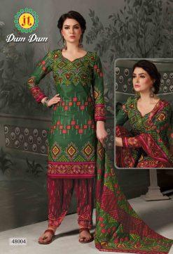 JT fashion present of printed dumdum vol 48 dress materials 17