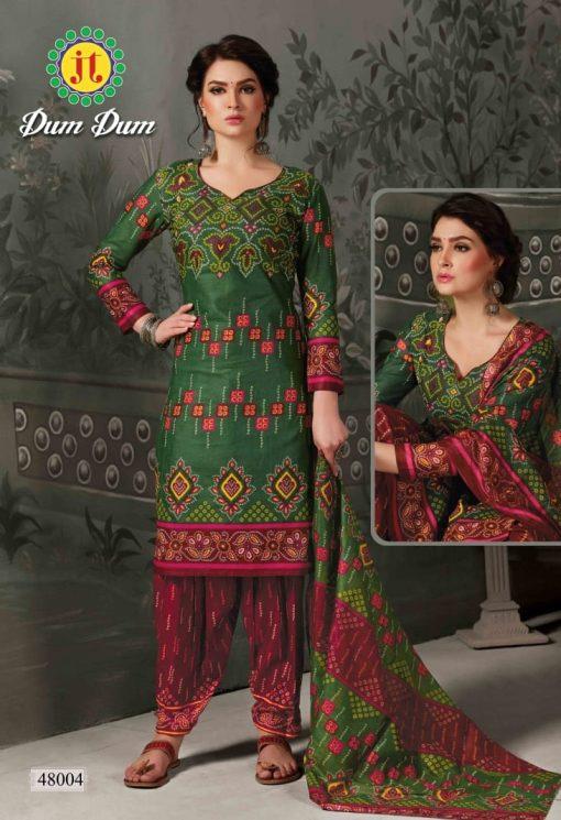 JT fashion present of printed dumdum vol 48 dress materials 4