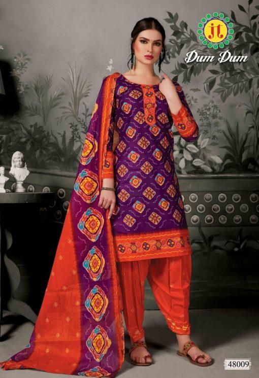 JT fashion present of printed dumdum vol 48 dress materials 7