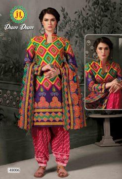 JT fashion present of printed dumdum vol 48 dress materials 24