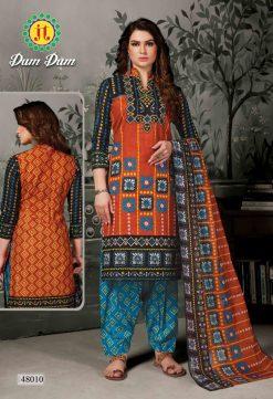 JT fashion present of printed dumdum vol 48 dress materials 22