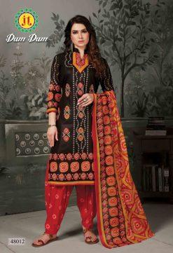 JT fashion present of printed dumdum vol 48 dress materials 23