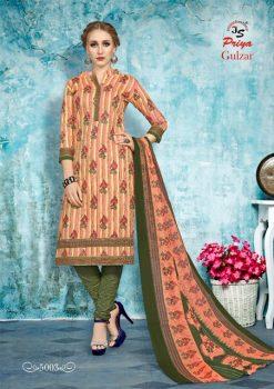 JS Priya Gulzar vol 5 cotton Dress material catalog 17