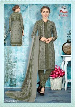 JS Priya Gulzar vol 5 cotton Dress material catalog 15