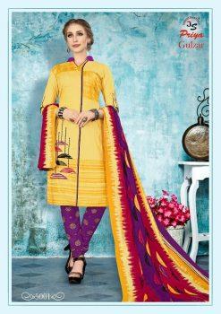 JS Priya Gulzar vol 5 cotton Dress material catalog 16