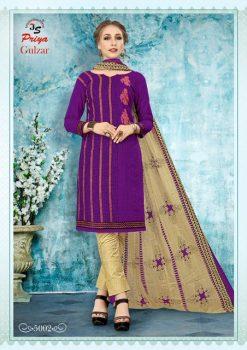 JS Priya Gulzar vol 5 cotton Dress material catalog 20