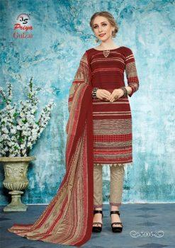 JS Priya Gulzar vol 5 cotton Dress material catalog 19