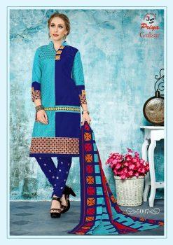 JS Priya Gulzar vol 5 cotton Dress material catalog 23