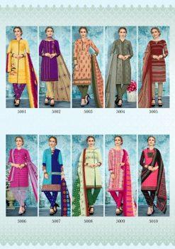 JS Priya Gulzar vol 5 cotton Dress material catalog 24
