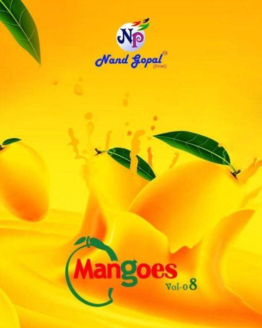 Nand Gopal Mangoes Vol 8 cotton print 3