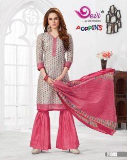 Devi Poppins vol 21 cotton print 21