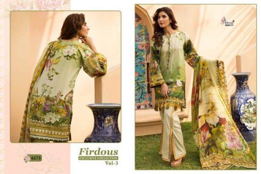 shree fab firdous exclusive collection vol 3 cotton print suit wholesaler 4
