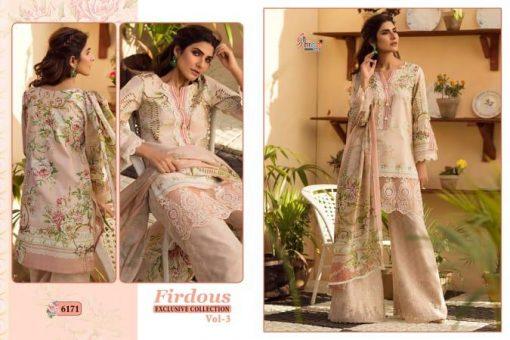 shree fab firdous exclusive collection vol 3 cotton print suit wholesaler 8