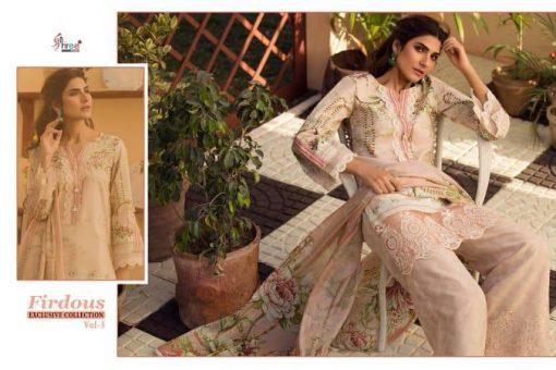shree fab firdous exclusive collection vol 3 cotton print suit wholesaler 6