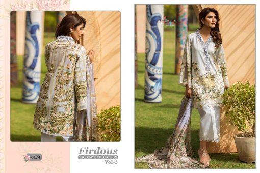 shree fab firdous exclusive collection vol 3 cotton print suit wholesaler 10