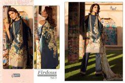 shree fab firdous exclusive collection vol 3 cotton print suit wholesaler 24