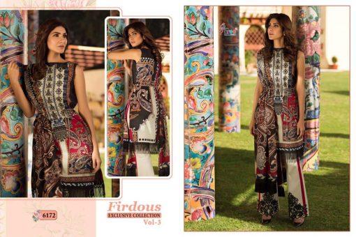 shree fab firdous exclusive collection vol 3 cotton print suit wholesaler 12