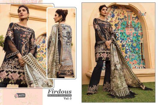 shree fab firdous exclusive collection vol 3 cotton print suit wholesaler 11