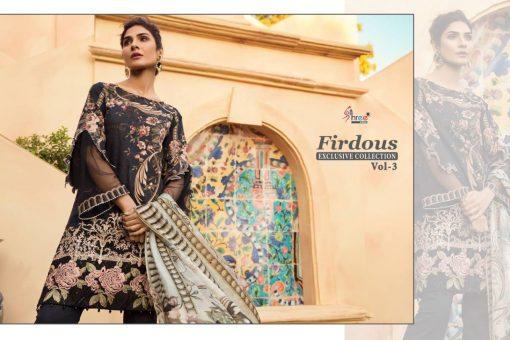 shree fab firdous exclusive collection vol 3 cotton print suit wholesaler 13