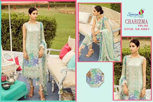 SANIYA TRENDS CHARIZMA Vol-2 Pure Cottan With Embroidery 4
