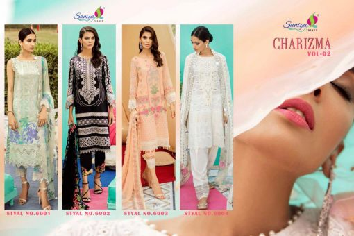 SANIYA TRENDS CHARIZMA Vol-2 Pure Cottan With Embroidery 2