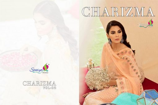 SANIYA TRENDS CHARIZMA Vol-2 Pure Cottan With Embroidery 3