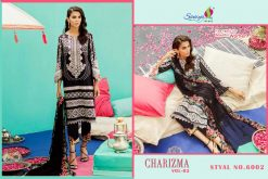 SANIYA TRENDS CHARIZMA Vol-2 Pure Cottan With Embroidery 12