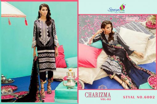 SANIYA TRENDS CHARIZMA Vol-2 Pure Cottan With Embroidery 6