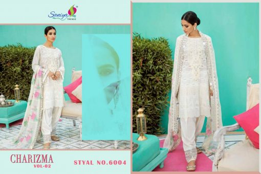 SANIYA TRENDS CHARIZMA Vol-2 Pure Cottan With Embroidery 7