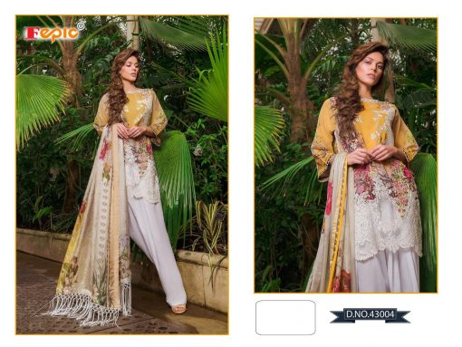 Rosemeen Cross Lawn Cambric Cotton Pakistani Collection 6