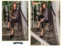 Rosemeen Cross Lawn Cambric Cotton Pakistani Collection 21