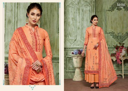 lavina launch lavina vol 23 pure cotton printed traditional wear suit 2