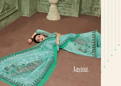 lavina launch lavina vol 23 pure cotton printed traditional wear suit 5