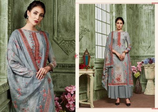 lavina launch lavina vol 23 pure cotton printed traditional wear suit 9