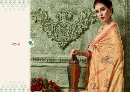 lavina launch lavina vol 23 pure cotton printed traditional wear suit 13