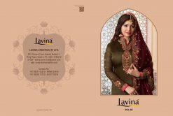 lavina launch lavina vol 65 satin georgette party wear salwar suit 23