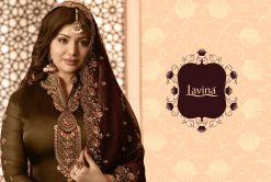 lavina launch lavina vol 65 satin georgette party wear salwar suit 28