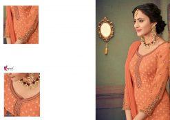 kesari trendz zaina vol 4 brasso exclusive salwar kameez in surat dealer 15