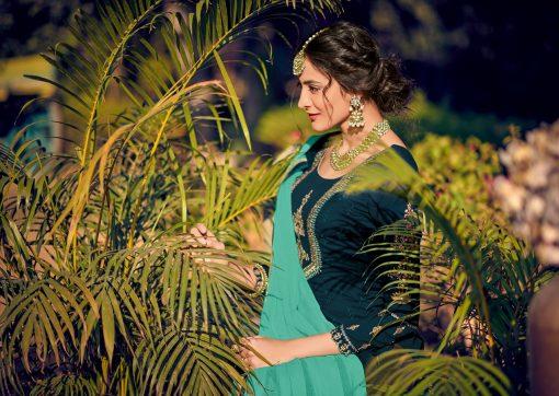 kesari trendz zaina vol 4 brasso exclusive salwar kameez in surat dealer 1