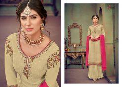 kesari trendz zaina vol 4 brasso exclusive salwar kameez in surat dealer 18