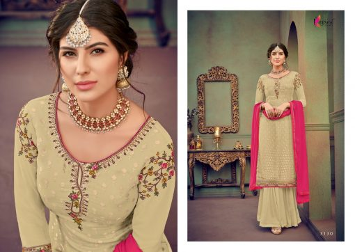 kesari trendz zaina vol 4 brasso exclusive salwar kameez in surat dealer 6