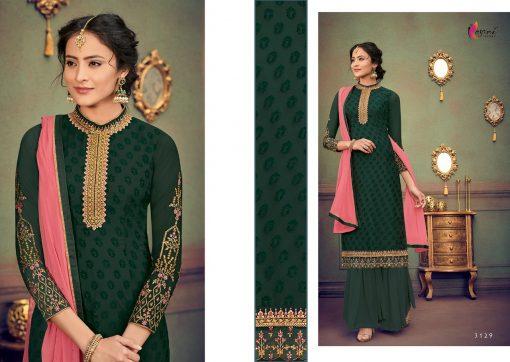 kesari trendz zaina vol 4 brasso exclusive salwar kameez in surat dealer 4