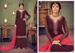 kesari trendz zaina vol 4 brasso exclusive salwar kameez in surat dealer 21