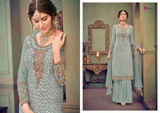 kesari trendz zaina vol 4 brasso exclusive salwar kameez in surat dealer 8