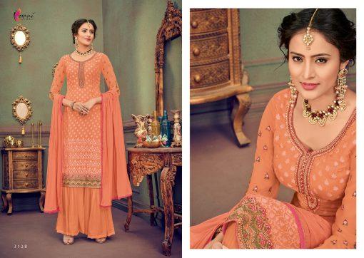 kesari trendz zaina vol 4 brasso exclusive salwar kameez in surat dealer 10
