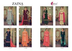 kesari trendz zaina vol 4 brasso exclusive salwar kameez in surat dealer 23