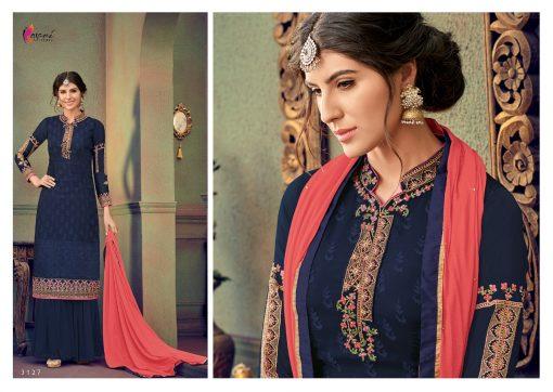 kesari trendz zaina vol 4 brasso exclusive salwar kameez in surat dealer 13