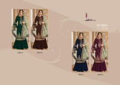 Hurma Vol 10 Gold Designer Faux Georgette Embroidered Salwar Kameez 9